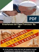Enseñanzas del Papa Francisco - Nº 32
