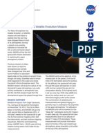 MAVEN Fact Sheet