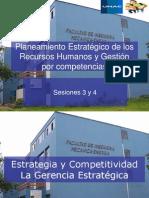 03 y 04- Planeamiento Estratégico de los Recursos Humanos