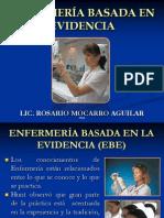 ENFERMERÍA BASADA EN EVIDENCIA DOS