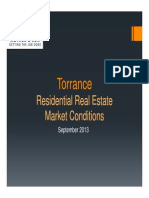 09-2013 Real Estate Market Conditions - Torrance