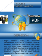 EXPOSICION MERCANCIAS PELIGROSAS