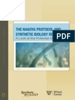 The Nagoya Protocol and Synthetic Biology Research