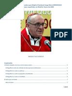 Los ejercicios espirituales del Papa Francisco a los Obispos españoles en Enero 2006