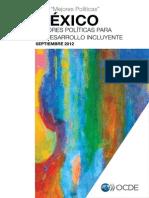 OCDE Mexico Mejores Políticas Sep. 2012