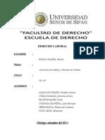 Contratos de Trabajo y Periodo de Prueba