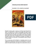 Homilía Pascual por San Justin Popovich