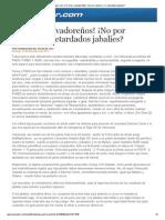 EDH - Edit Pilar Sol - Por Dios Salvaodñores no por menos o Retardados Jabalies - 11 11 13