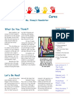 kinsey cares newsletter