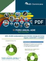 Análisis sobre el sector energético dominicano presentado en el IV Foro Anual ADIE 2013