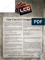 Gencon League Rules Lcg