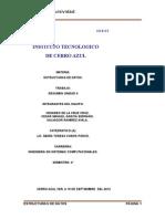 Resumen Estructura de Datos Unidad 2