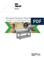 Scraped Surface Heat Exchanger