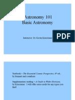 Kevin Krisciunas-Astronomy 101