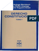 Manual de Derecho Constitucional -  Mario Verdugo Marinkovic - Tomo i