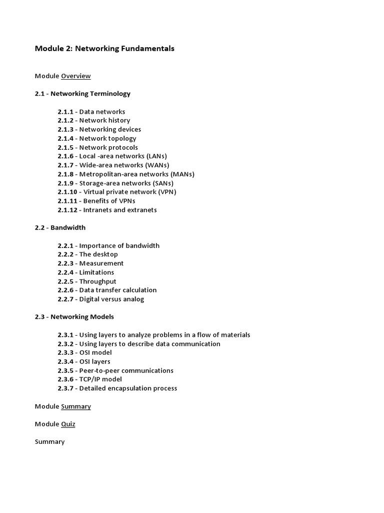 CCNA 1 - Modulo 2 | Osi Model | Hertz