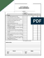 Check List - Gases Comprimidos