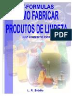 Formulas de Produtos de Limpeza