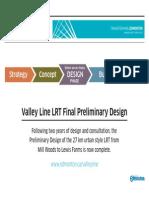 Valley Line LRT Preliminary Design