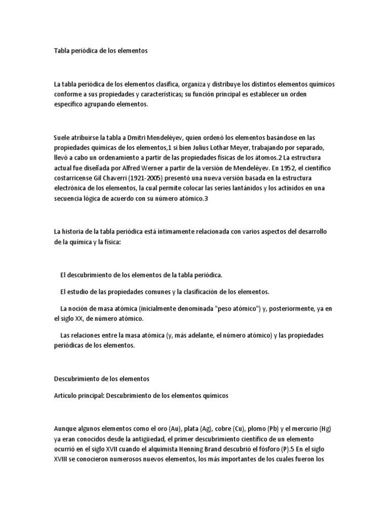 Tabla peridica de los elementoscx urtaz Image collections