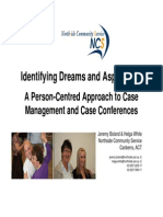 Dreams and Aspirations Person Centered Case Management