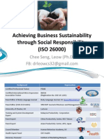 Achieving Business Sustainability Through Social Responsibility (ISO 26000)