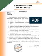 ATPS ECONOMIA 2º ADM