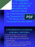 MODELO DE ORGANIZACIÓN INSTITUCIONAL