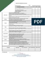 Formato Inspección de Herramientas Manuales