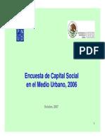 Encuesta de Capital Social