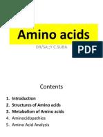 6. Amino Acids (Part I)