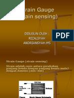 Presentasi Sensor(Strain Gauge) Rizal