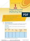 Chapter 1 - Organising and Displaying Data