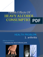 Health Effects of Heavy Alcohol Consumption