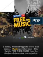 Free The Music - A unique initiative by Songdew