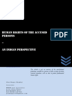 Human Rights of the Accused-An Indian Perspective