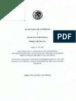 NMX-C-158-1987 Determ Del Contenido de Aire Metodo Volumetrico