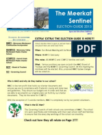 Meerkat Sentinel Election Edition
