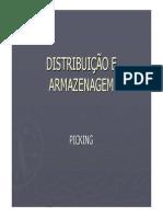 DISTRIBUIÇÃO E ARMAZENAGEM - 4 - Picking - Prof Martinez