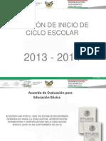 INICIO ESCOLAR 2013-2014 primarias