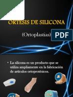 Ortesis de Silicona