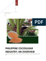 Philippine Coconut Sugar Industry