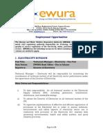 Employment Opportunities Until Nov 22 2013