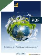 QS World University Rankings Latin America