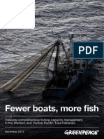 Fewer boats, more fish