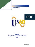 Modulo Aprendizaje 2011-Psicologia