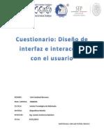 Cuestionario - Uriel Sandoval Berrones