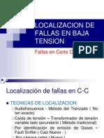 Localizacion de Fallas en Baja Tension