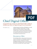 Chief Digital Officer Concept