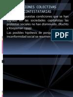 ACCIONES COLECTIVAS CONTESTATARIAS